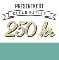 250kr - Clean Eating