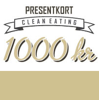 1000kr - Clean Eating