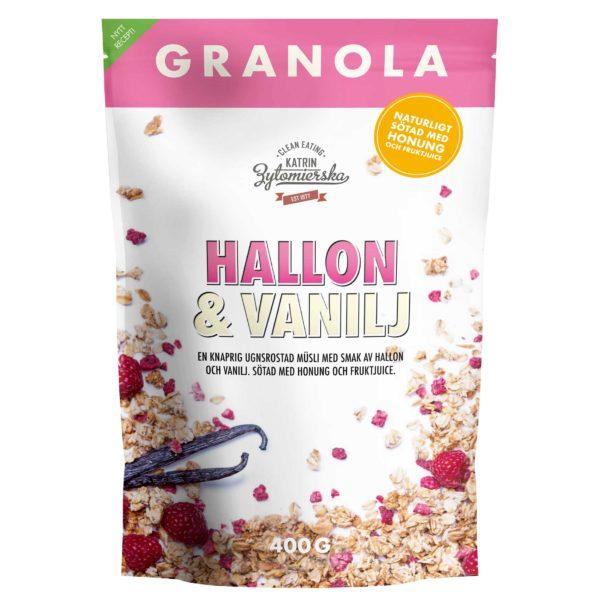 GRANOLA HALLON & VANILJ