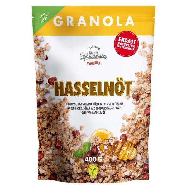 GRANOLA HASSELNÖT