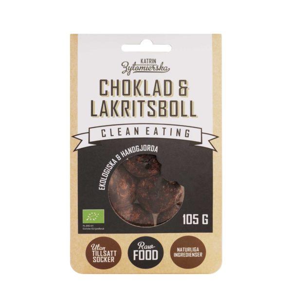 CHOKLAD & LAKRITSBOLL