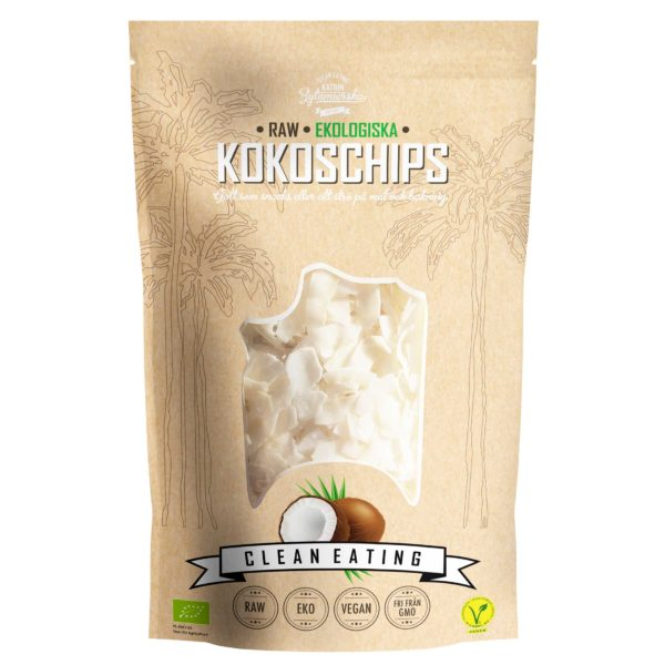 EKOLOGISKA & RAW KOKOSCHIPS