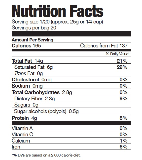 Nutrition: nutrition facts cereal label