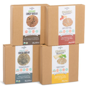 Crackers & Organic Crispbread Pack