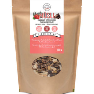 Müsli Chunky Chocolate & Strawberry 500g